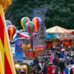 Balloon Ride Edinburgh Christmas Fair Edinburgh