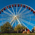 Big Wheel Edinburgh Christmas Fair Edinburgh