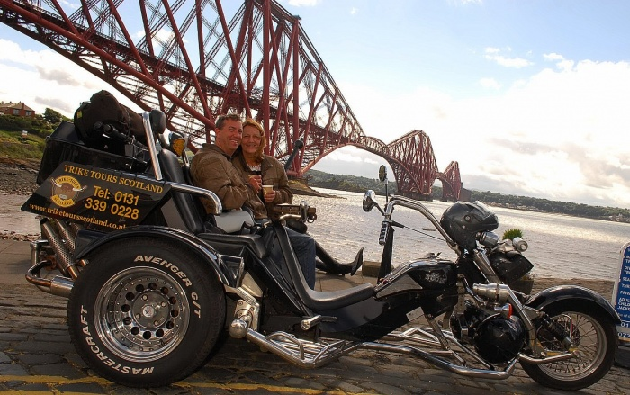 Trike tour of Scotland Scottish Trike Tour Edinburgh Trike Tour Edinburgh tricycle tour Edinburgh Scottish tricycle tour Scotland trike tour Scotland