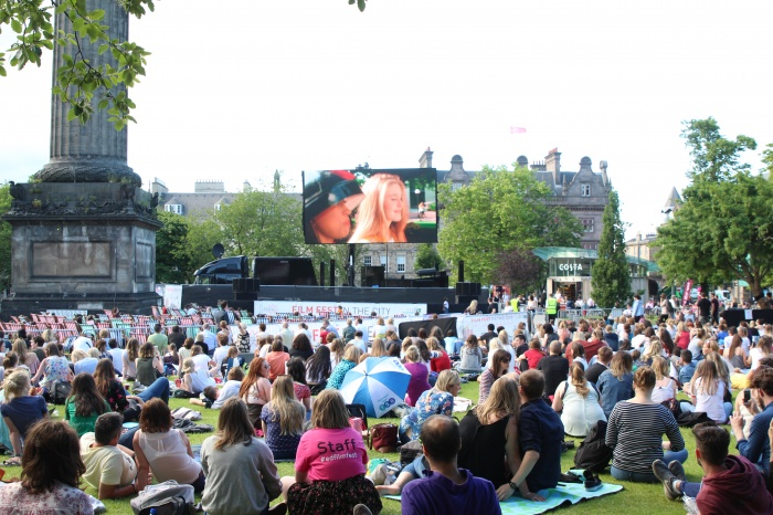 Edinburgh outdoor cinema Edinburgh outdoor films Edinburgh outdoor film Edinburgh outdoor film screening Edinburgh