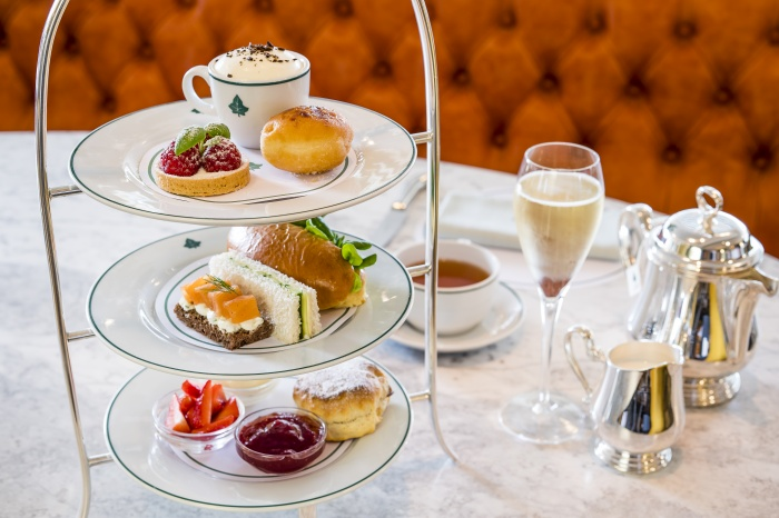Review Afternoon tea at the ivy edinburgh