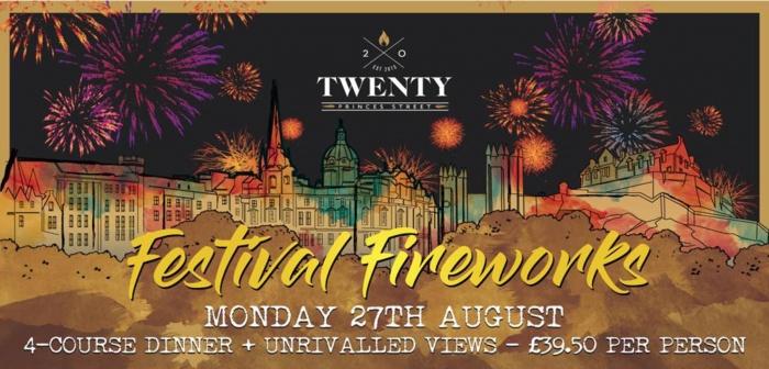 Edinburgh Fireworks Dinner Edinburgh Luxury Edinburgh