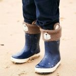 Bear boots at Jojo Maman Bebe - part of our Edinburgh christmas shopping guide with Multrees Walk