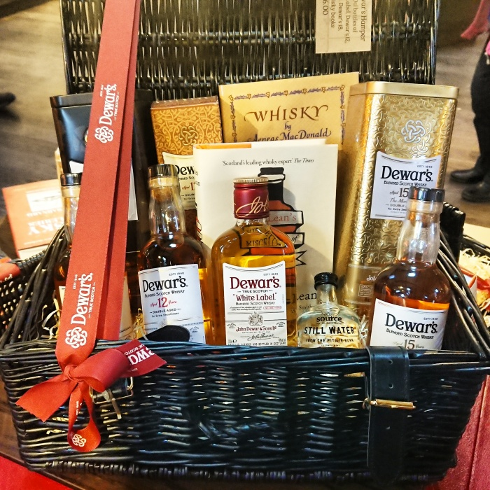 'Taste of Dewar's' Christmas whisky hamper