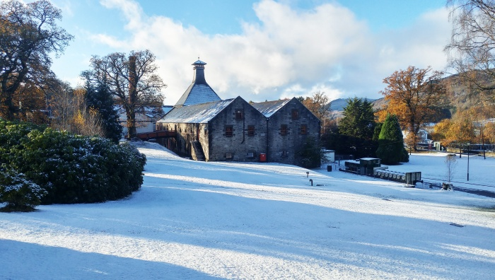 Dewar's Aberfeldy Distillery Christmas whisky competition