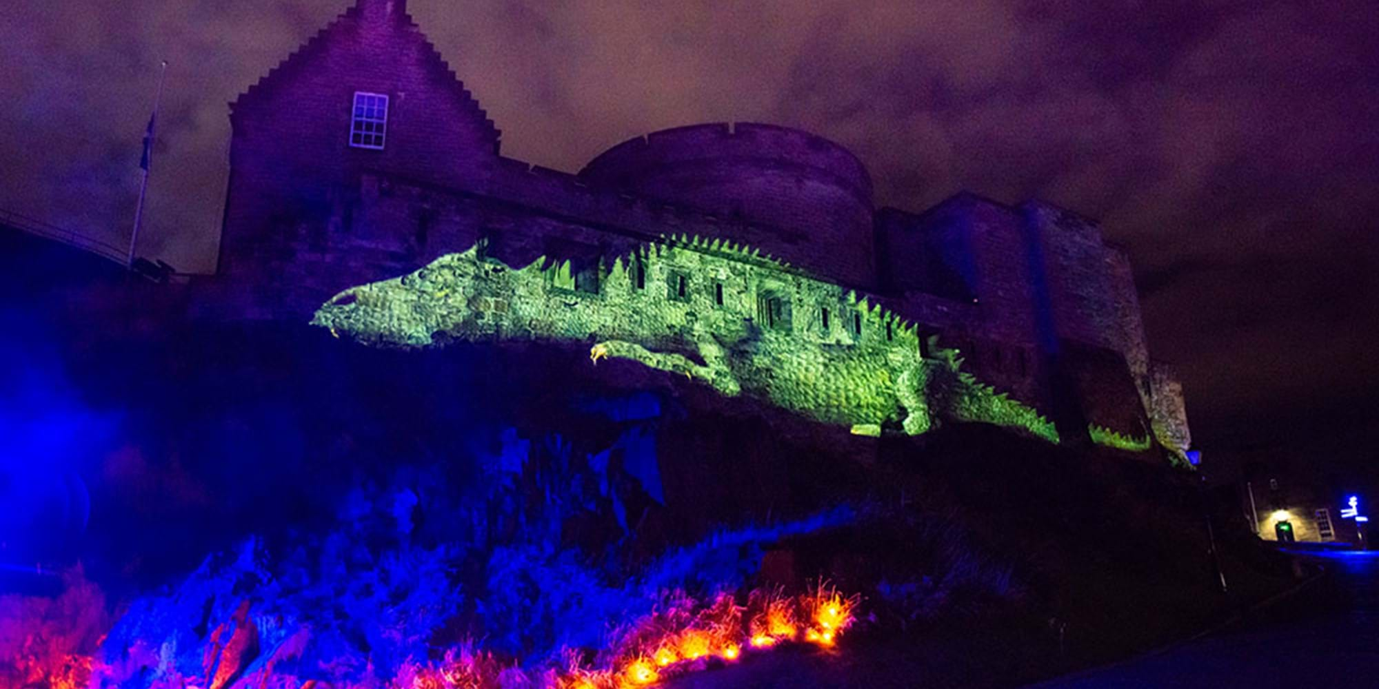 edinburgh castle of light edinburgh castle illumination edinburgh castle